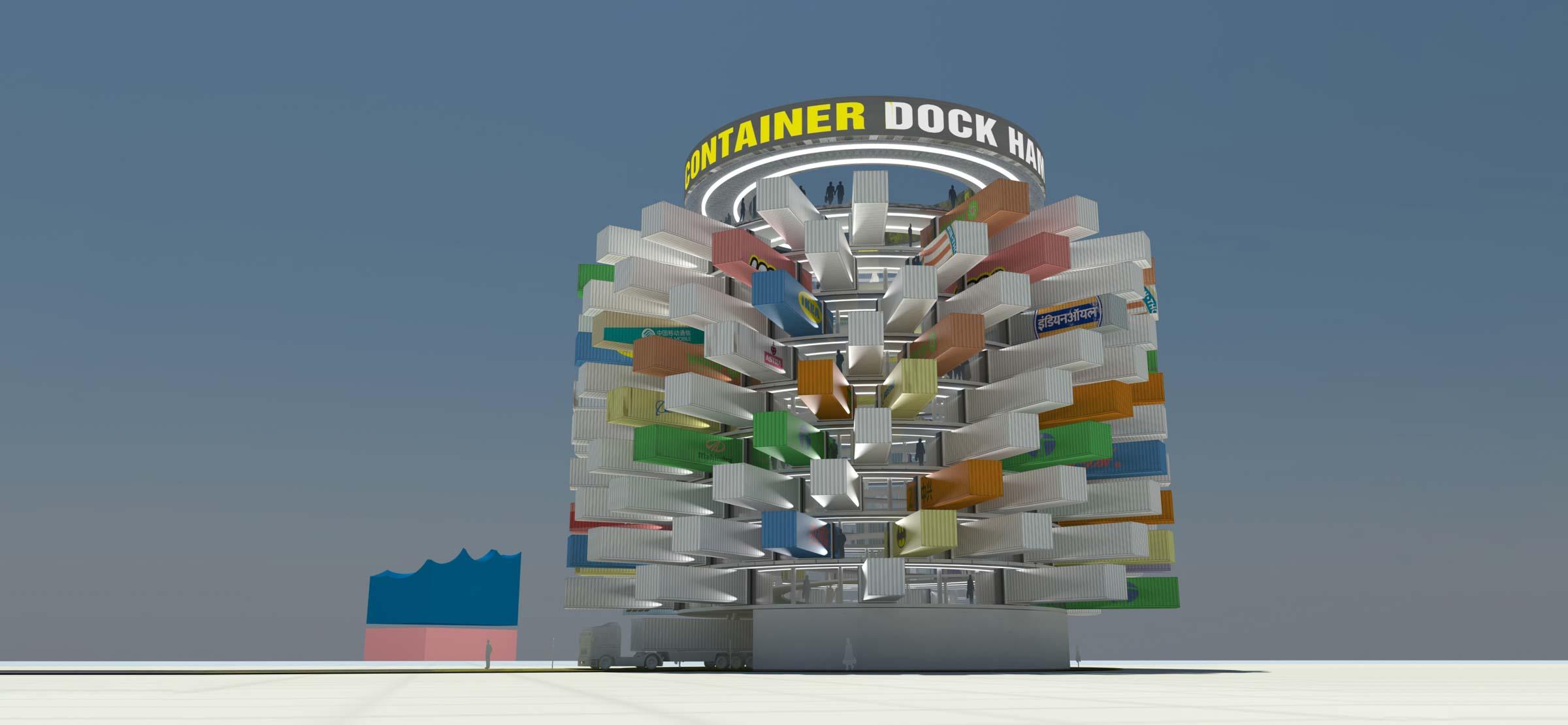 Container Dock-Projekt