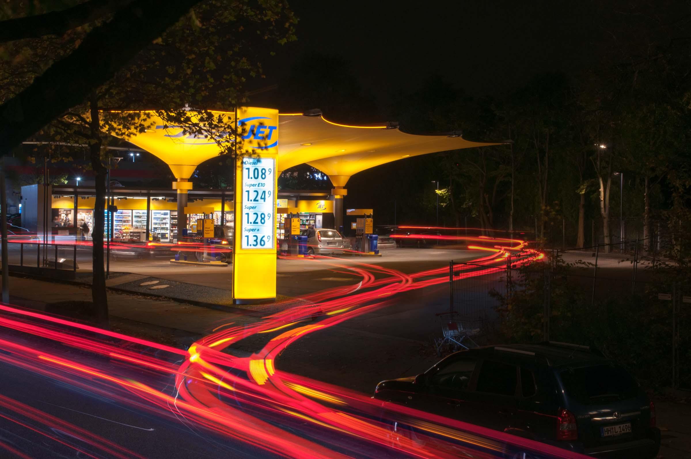 Eine Tankstelle wird neu gedacht